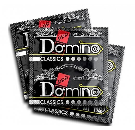"""Ароматизированные презервативы Domino """"Ваниль"""" - 3 шт."""