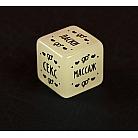 Эротический набор для двоих «Во власти страсти» с плеткой и кубиком