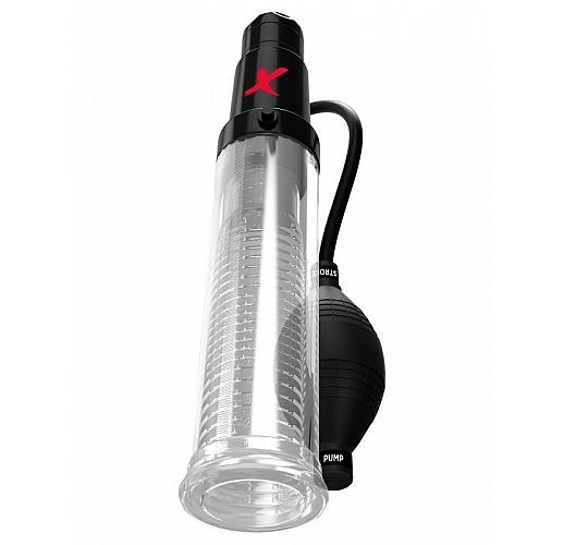 Прозрачная вакуумная вибропомпа Suck-N-Pump Stroker