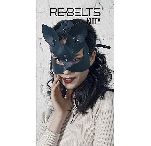 Маска с кошачьими ушками Kitty Black черный
