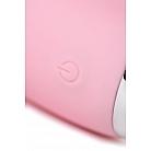 Розовый вибратор-пульсатор с функцией подогрева Milly - 20 см.