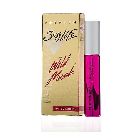 Женские духи Wild Musk №14 с мускусом и феромонами - философия аромата Montale Rose Elixir - 10 мл.
